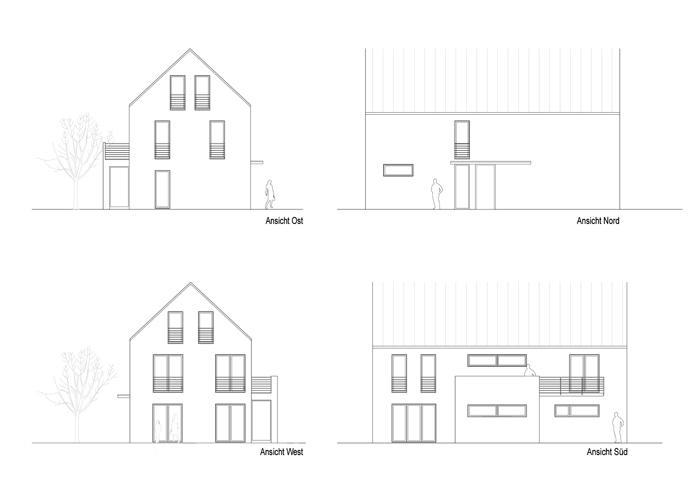 Neubau Einfamilienhaus P
