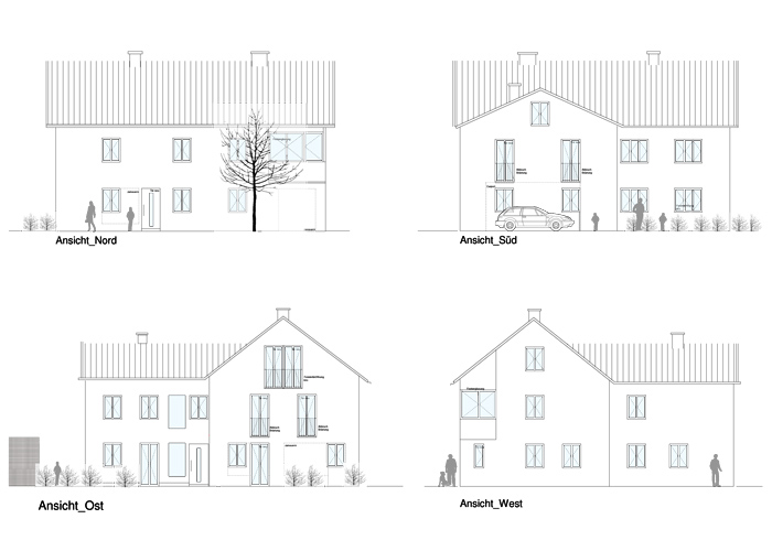 Sanierung Mehrfamilienhaus H