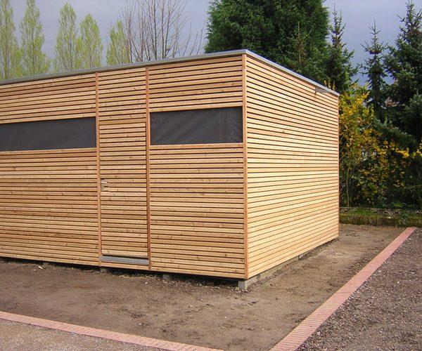 Pavillons im Lehr- und Lerngarten Lünen