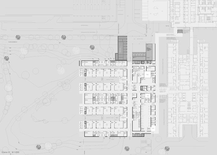 Neubau OP-Bereich Universitätsklinikum Göttingen